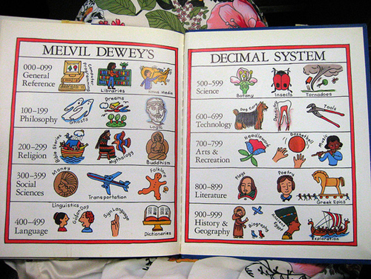 A children's book explains Dewey