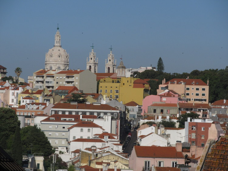 A view of Lisbon. Copyright by Erin Taylor.