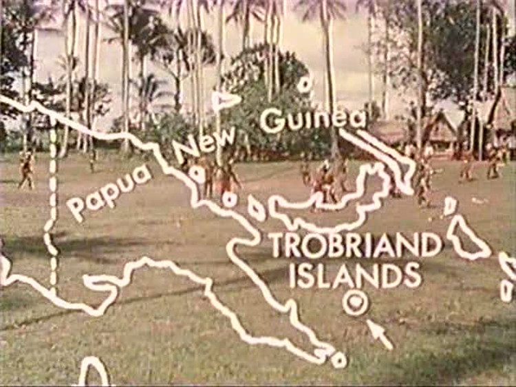 "A still from the film ""Trobriand Cricket,"" by Garry Leach and Jerry Kildea (1979)"