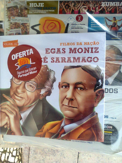 Children's books tell the story of Portugal's Nobel Prize winners. Photo by Dennis Zuev.