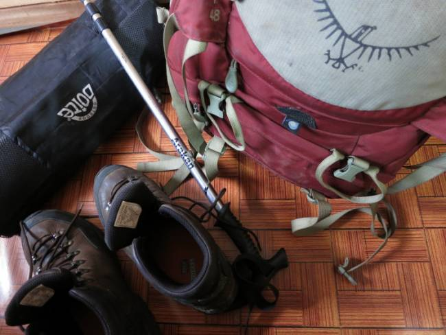 But are your soles Vibram? Consumerism among backpackers in South America