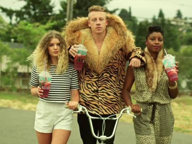 Macklemore's feeling thrifty.