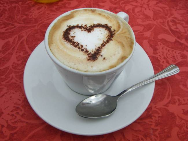 Coffee with an emotional connection. Photo by Ashleee (Own work) [Public domain], via Wikimedia Commons.
