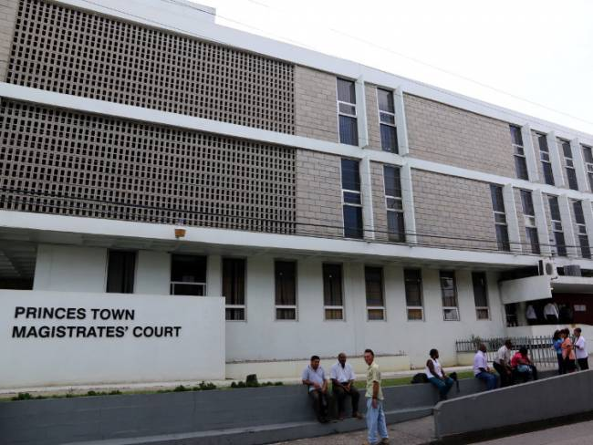 Magistrates Court in Princes Town, Trinidad and Tobago. Photo by JEITT.